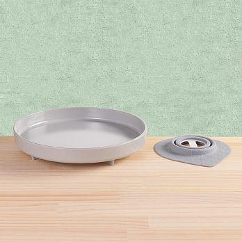 Miniware天然寶貝碗竹纖維兒童學習餐具麵包盤組芝麻冰淇淋