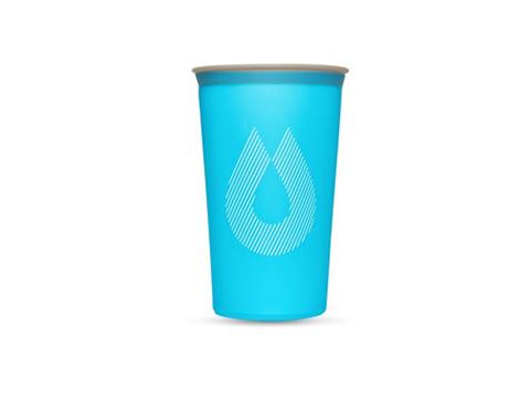 騎跑泳者FINISHER:騎跑泳者-HydraPak軟式摺疊隨行杯馬拉松行杯軟水杯軟水壺,輕巧又方便,可以重複使用,也可壓縮折疊存放