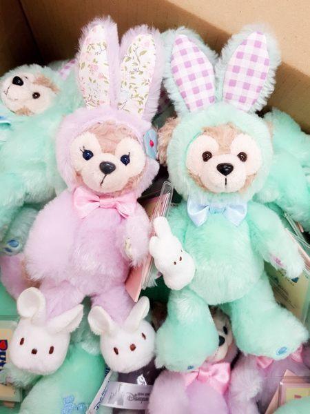 香港迪士尼Duffy 達菲達菲雪莉梅絨毛玩偶娃娃吊飾復活節代購