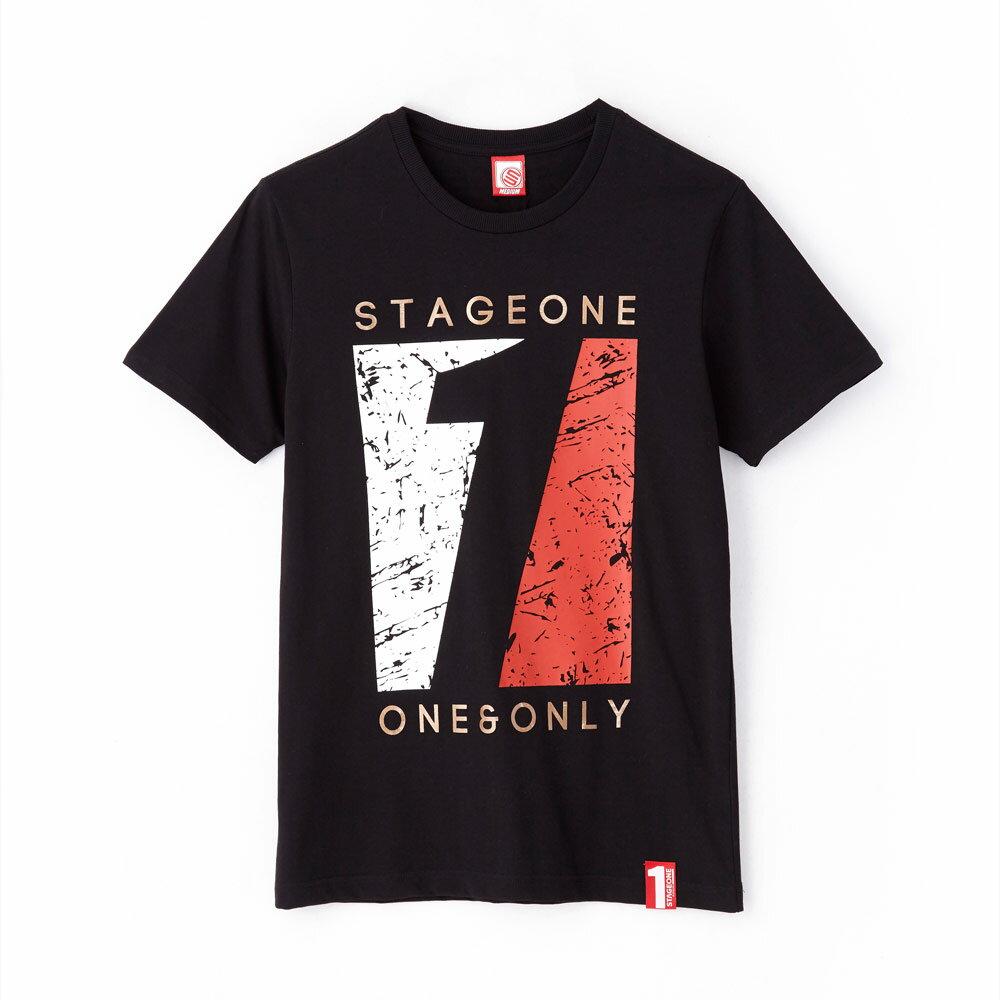 STAGEONE VINTAGE TONE TEE 黑色 白色 兩色 5