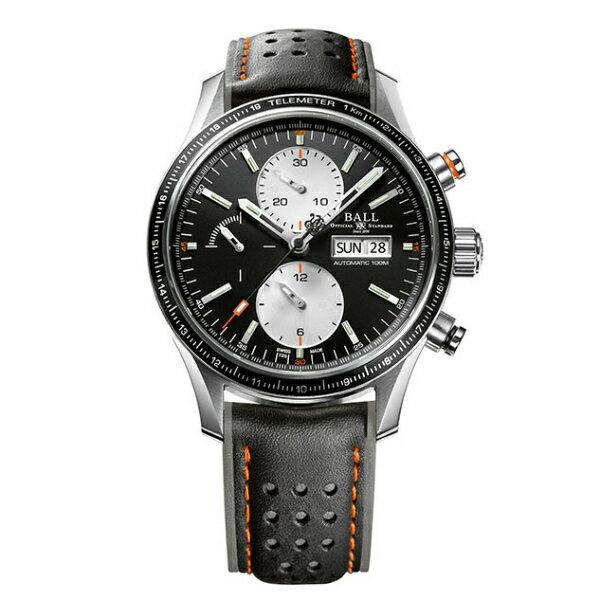 BALL 波爾錶CM3090C-L1J-BK Fireman暴風追逐者機械計時腕錶/黑面42mm