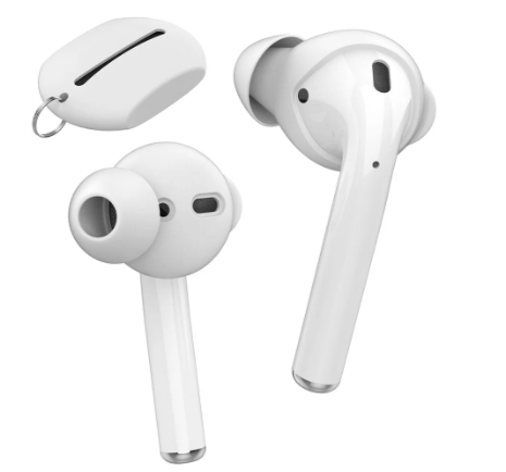 AirPods/EarPods 提升音質 入耳式耳機套(3組入) 附收納套 AHASTYLE