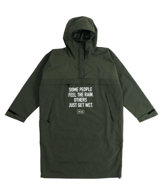 日本kiu  /  帥氣防潑水 防風長版罩衫 外套 附收納袋   / K110 。共4色。(8640)日本必買 日本樂天代購 9