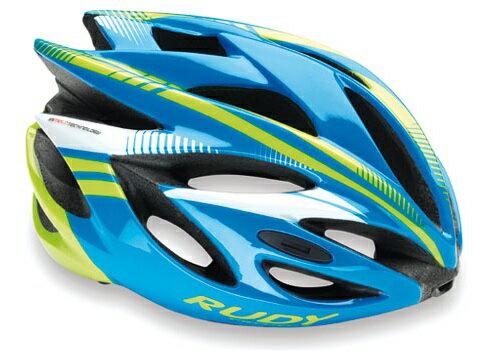 【7號公園自行車】RUDY PROJECT AIRSTORM RUSH 安全帽(藍黃)