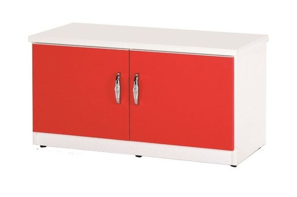 【石川家居】852-09(紅白色)座鞋櫃(CT-306)#訂製預購款式#環保塑鋼P無毒防霉易清潔