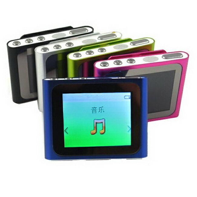 B1810蘋果六代 插卡式MP4隨身聽(加16G記憶卡)(送三大好禮)