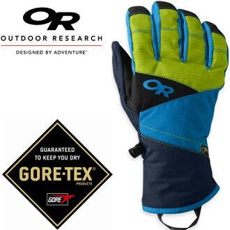 Outdoor Research 防水手套/滑雪手套/保暖手套 Gore-tex Centurion 76125 65C 男款藍