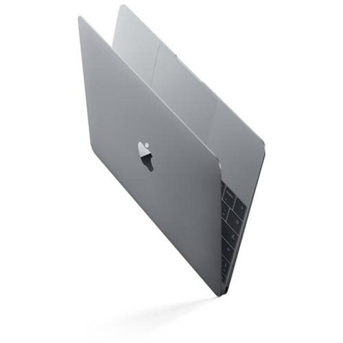 "Apple MacBook MNYG2LL/A 12"" LCD Notebook - Intel Core i5 (7th Gen) Dual-core (2 Core) 1.30 GHz - 8 GB LPDDR3 - 512 GB SSD - Mac OS Sierra - 2304 x 1440 - In-plane Switching (IPS) Technology, Retina Display - Space Gray - Intel HD Graphics 615 LPDDR3 - Blu"