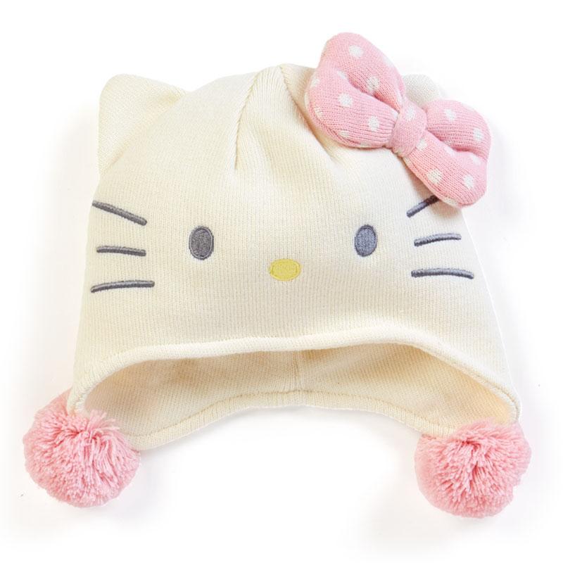 三麗鷗 Sanrio HelloKitty 凱蒂貓 毛線帽