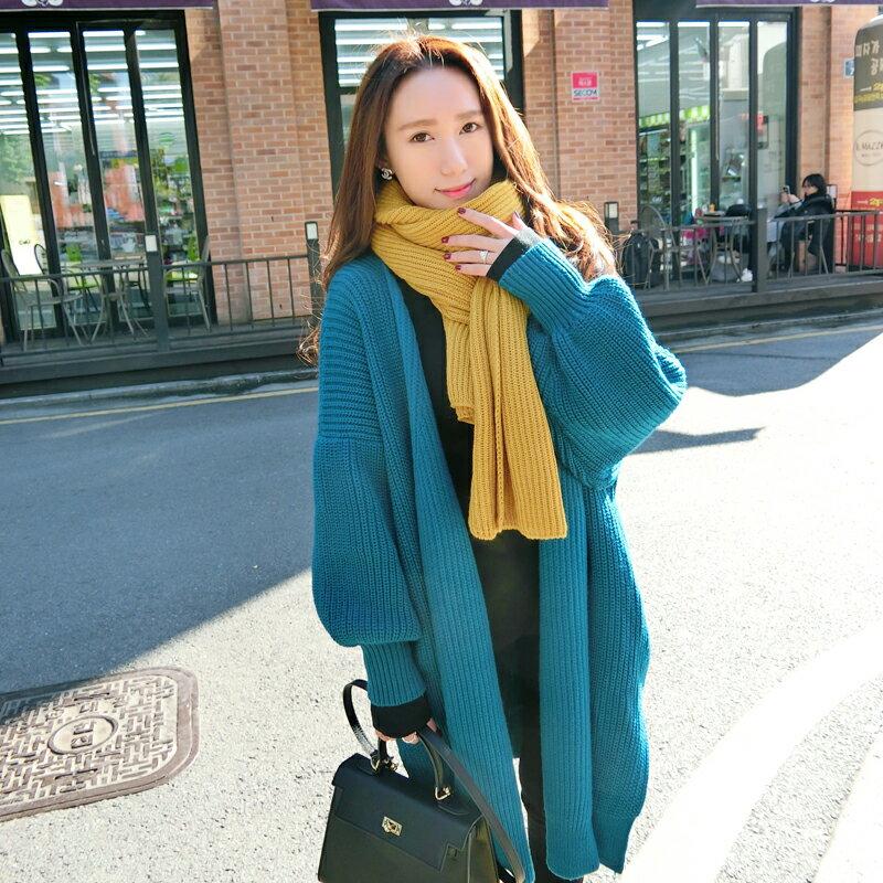 基本款毛衣針織外套(3色)