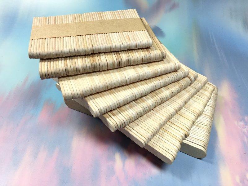 【八八八】e網購~【冰棒棍140*10*2MM】模型木片拼裝木棒木條碎冰棍幼教材料房子模型材料攪拌棒 1