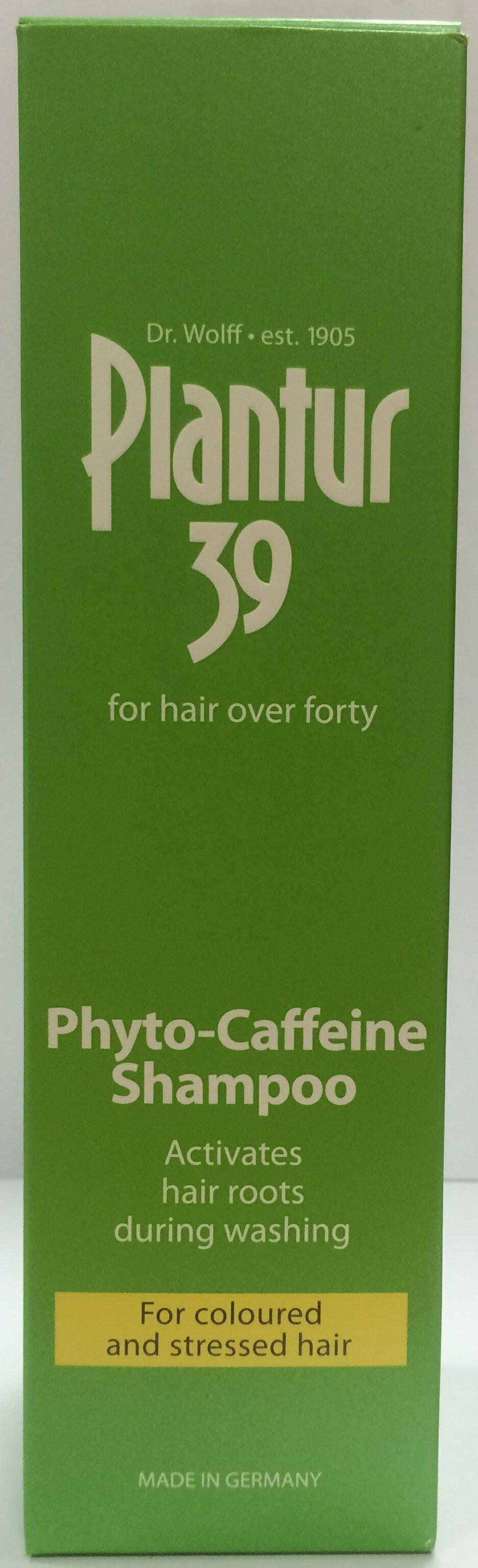 Plantur 39植物與咖啡因洗髮露-染燙及受損髮質250ml【屈臣氏】