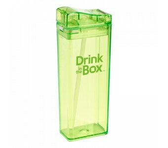 (1800折200)【Drinkinthebox】Tritan兒童運動吸管杯(大)-果凍綠355ml水杯