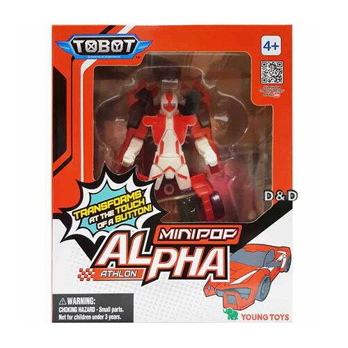 《TOBOT》機器戰士迷你-ALPHA