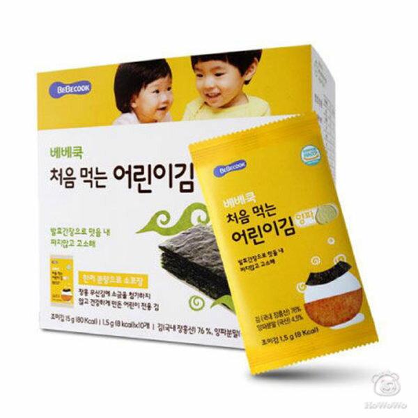 韓國智慧媽媽嬰幼兒無鹽海苔~洋蔥(12個月以上)51567好娃娃