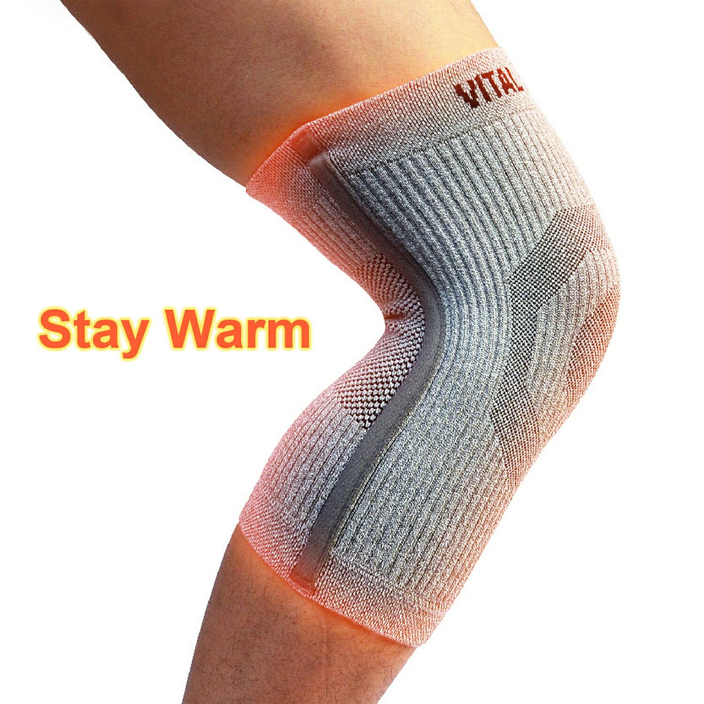 【VITAL SALVEO】運動保健護具 Knee Sleeve ST3 加厚型骨架護膝(單支)運動防護護具-台灣製造