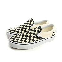 VANS Classic Slip-On 懶人鞋 滑板鞋 黑色/白 男女鞋 C011999 no316