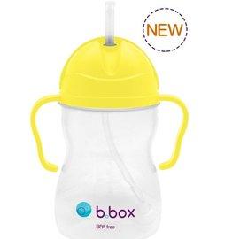 【淘氣寶寶*預購6月初】澳洲b.box防漏學習水杯-檸檬黃(240mls8oz)【加重的吸管球設計,任何角度皆能吸到】
