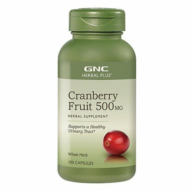 專品藥局【GNC健安喜】蔓越莓膠囊食品100顆【2009625】