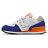 Shoestw【YV574NSD】NEW BALANCE NB574 運動鞋 黏帶 中童鞋 Wide 白寶藍橘 1