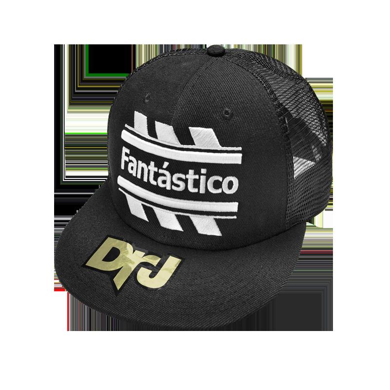 DrJ 電繡Fantastico網帽 黑色