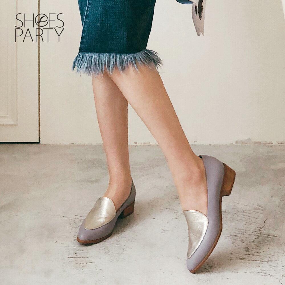 【P2-19427L】真皮配色復古爵士鞋_Shoes Party 3