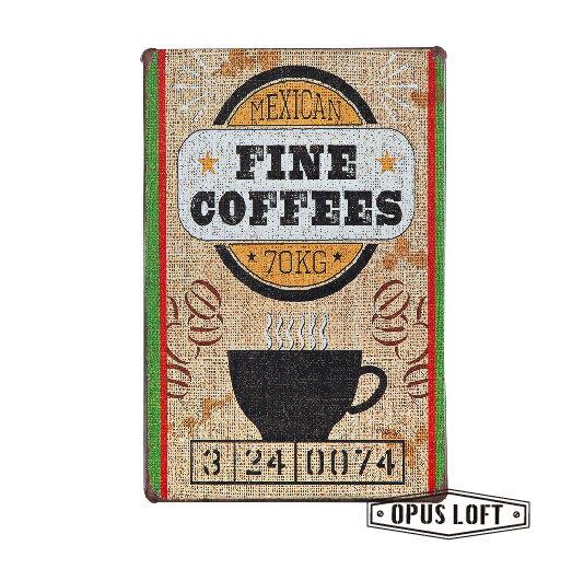 Coffee復古鐵牌TP-1017