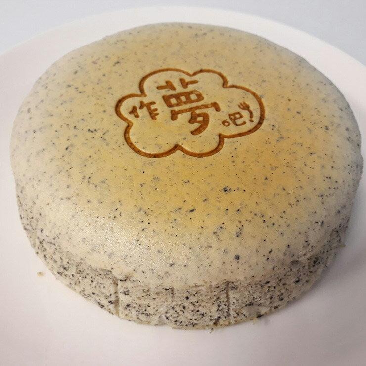 【作夢吧!蛋糕】輕乳酪蛋糕-芝麻6吋:彌月蛋糕生日蛋糕團購慶生下午茶