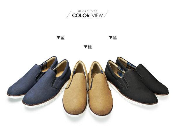 ☆BOY-2☆【NKP-UP71】簡約休閒皮革懶人鞋 1