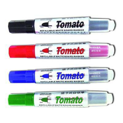 萬事捷 Tomato TR-630 插卡式白板筆 酒精性 / R-0608 卡式補充墨水 插卡式白板筆補充液