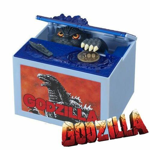 【日本進口正版】 哥吉拉 恐龍 存錢筒 儲金箱 偷錢箱 GODZILLA 聖誕禮物