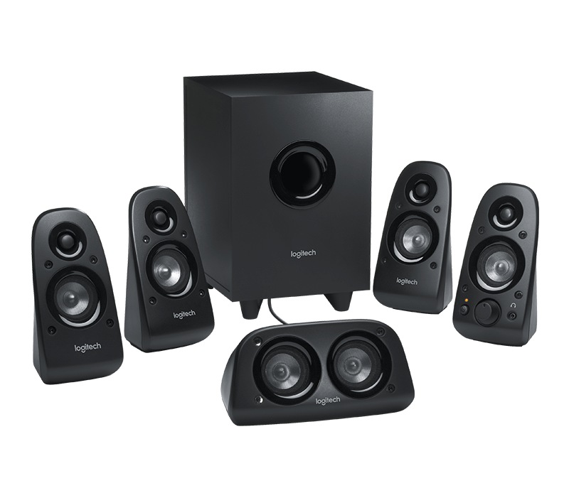Logitech 羅技 Z506 5.1 環繞音效音箱系統  喇叭 3