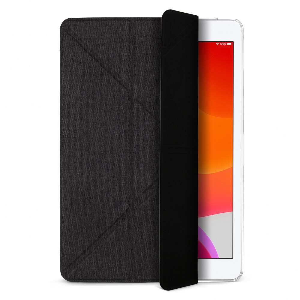 【JTLEGEND】JTL iPad 2019 Amos 10.2吋 相機快取多角度折疊布紋皮套 [富廉網]