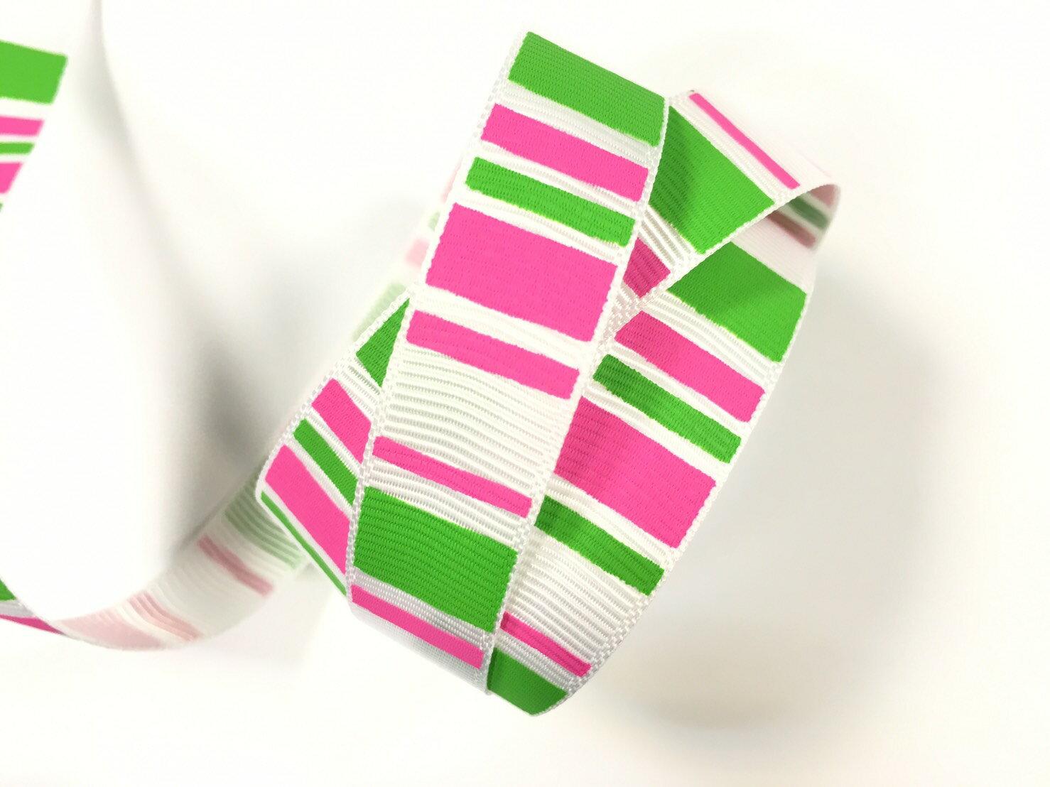 羅紋緞帶-彩條 15mm 3碼裝 - 限時優惠好康折扣