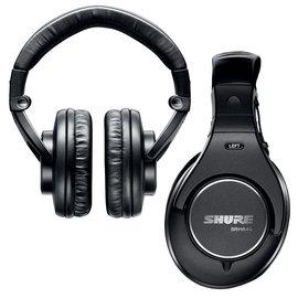 志達電子 SRH840 美國 SHURE 耳罩式 監聽耳機 (富銘公司貨) 門市開放試聽!