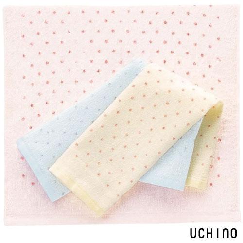 UCHINO 日本製 OBORO點點方巾 / 34*41cm 輕薄 吸水