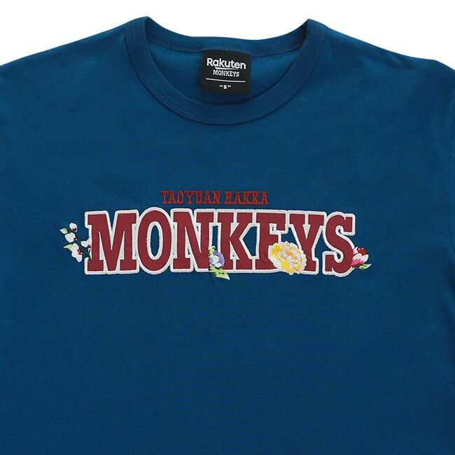 MONKEYS客家短T-藍 2