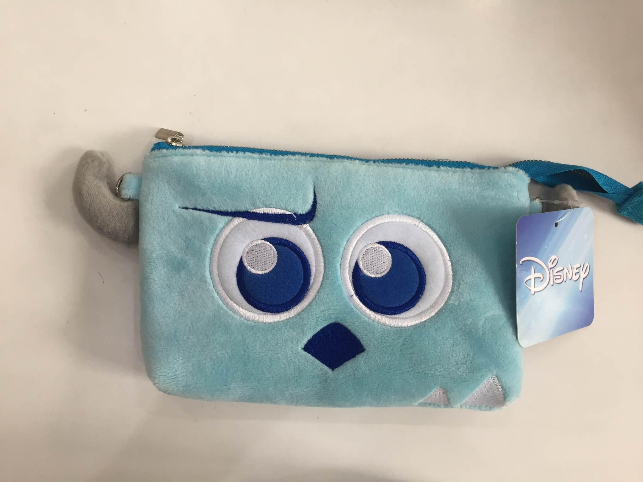 毛怪 迪士尼 背包 化妝包 隨身包 肩背包 側背包 斜背包 零錢包 附背袋背繩
