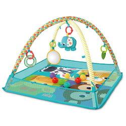 【麗嬰房】Kids II - Bright Starts 動物樂園球池地墊