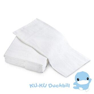 【寶貝樂園】KUKU酷咕鴨環保紗布尿布-初生型-12入