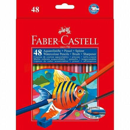 Faber-Castell 輝柏 48色水性彩色鉛筆 (紙盒裝) #114448