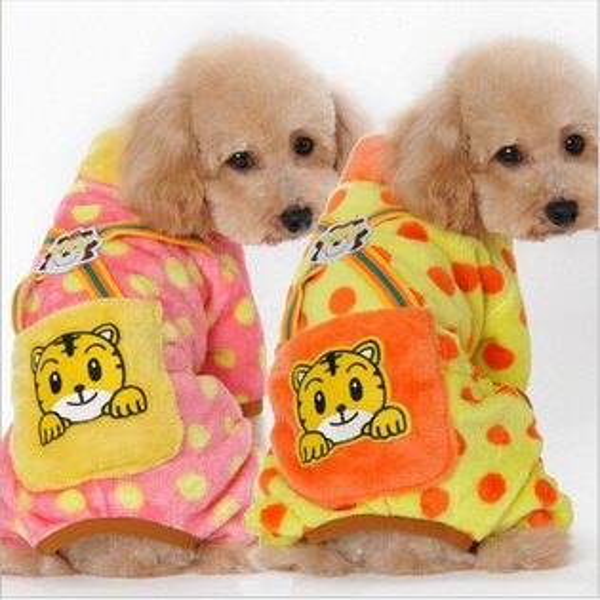糖衣子輕鬆購【DZ0399】珊瑚絨寵物衣服保暖款小型犬中型犬貓咪衣服狗狗衣服