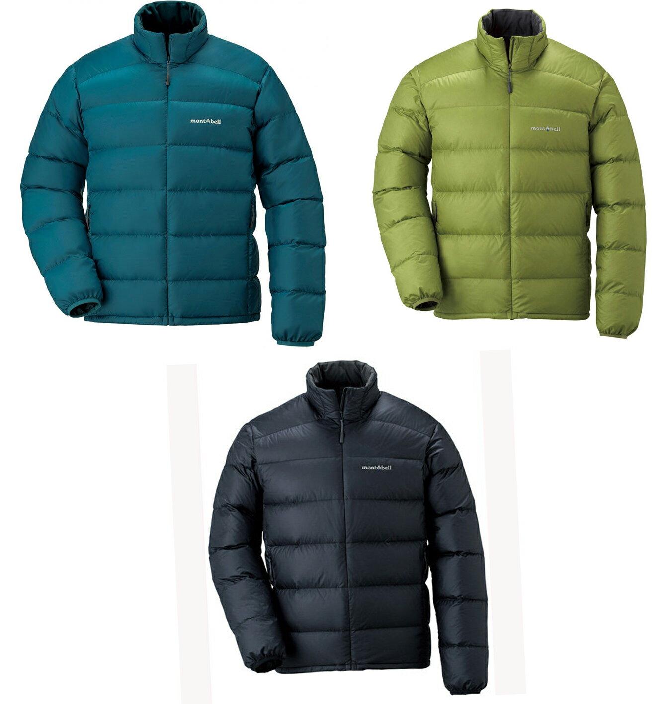 【露營趣】中和 Mont-Bell 1101428 Light Alpine down jackt 輕量羽絨外套 羽絨外套 男款