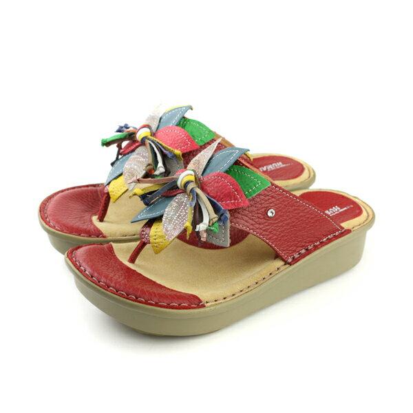 HUMAN PEACE 涼鞋 紅色 女鞋 no007