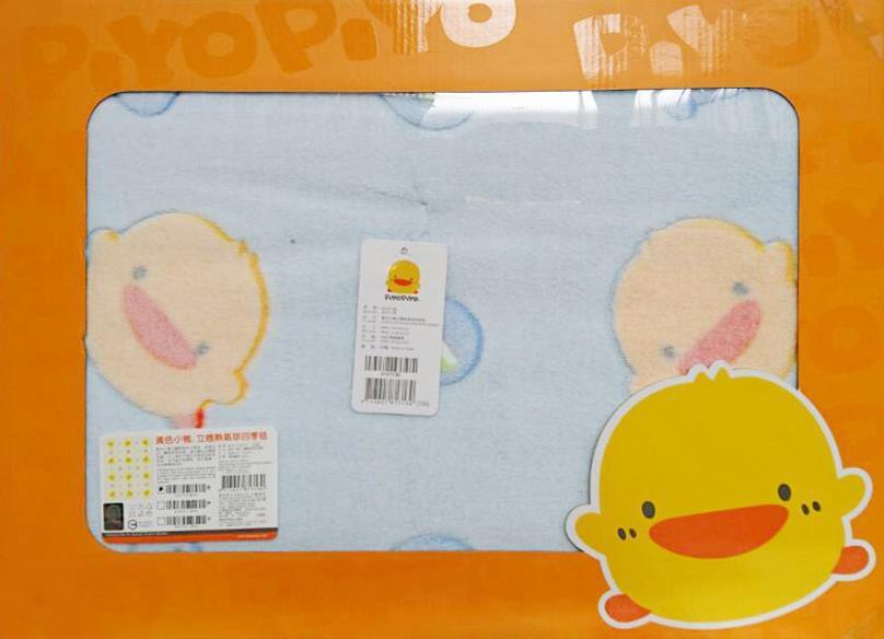 黃色小鴨 立體熱氣球四季毯禮盒