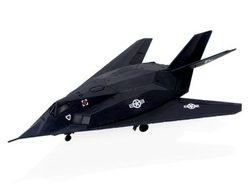 【4D MASTER】立體拼組模型戰鬥機系列-F-117A NIGHT HAWK 1:155 MODEL 60025D