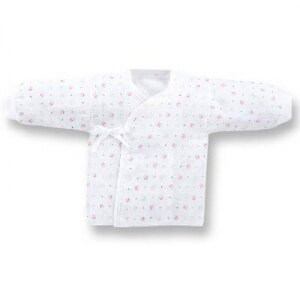 『121婦嬰用品館』KUKU 束口紗布肚衣-加大 0