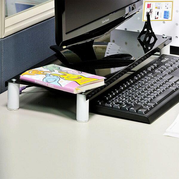 鍵盤收納架螢幕架烤漆螢幕架電腦桌收納架置物架省空間桌上螢幕架 [tidy house]