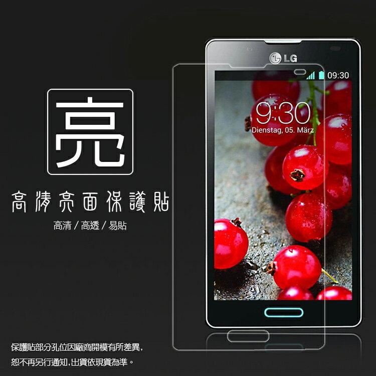 亮面螢幕保護貼 LG Optimus L4 II E440 保護貼 亮貼 亮面貼