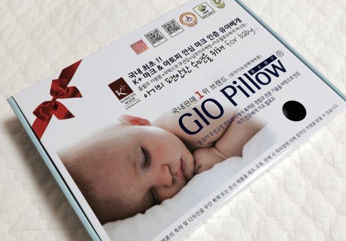 韓國 GIO Pillow 超透氣護頭型嬰兒枕 單枕套組-M號 【趣味汽車】